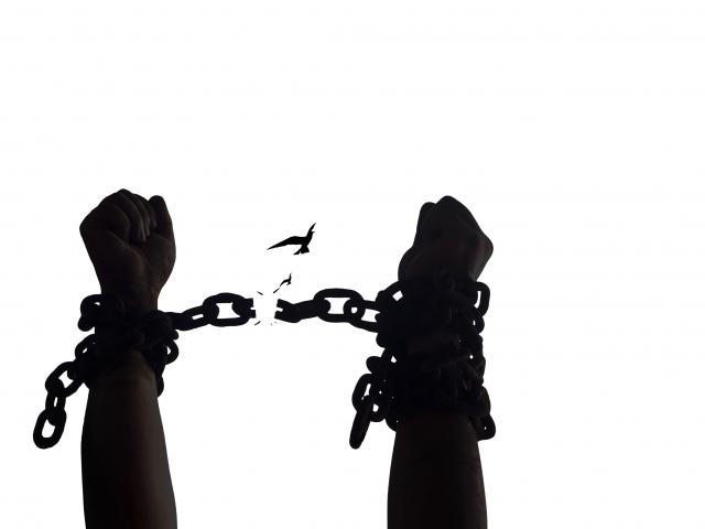 Breaking shackles for freedom