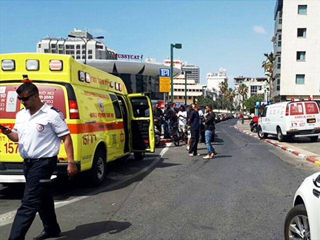 Stabbing Attack in Tel Aviv, Photo, Israel Police
