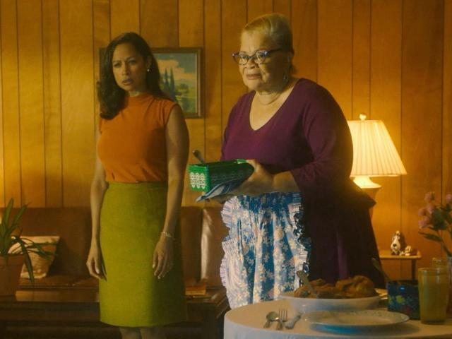 dr alveda king and stacey dash in roe v wade movie