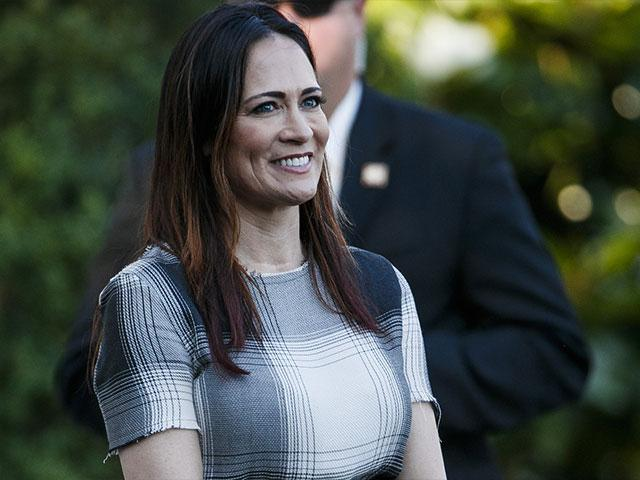 Stephanie Grisham will be the new White House press secretary. (AP Photo)