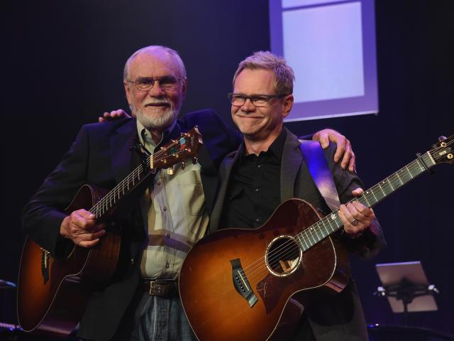 Steven Curtis Chapman and dad Herb
