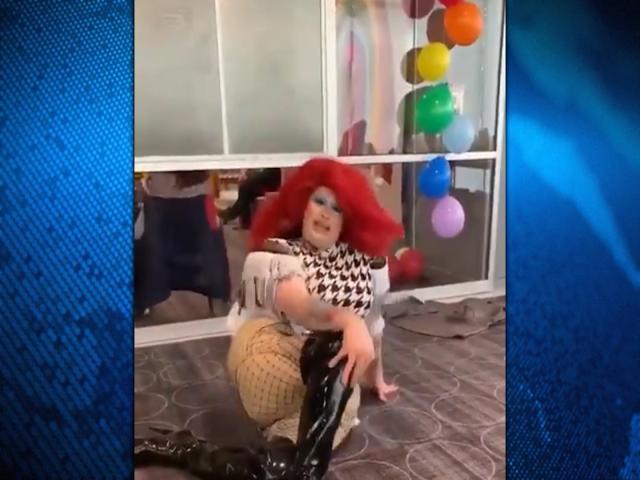 Drag Queen Strip Show