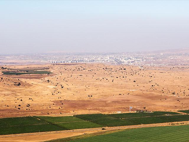 Border between Israel and Syria, Photo, CBN News, Jonathan Goff