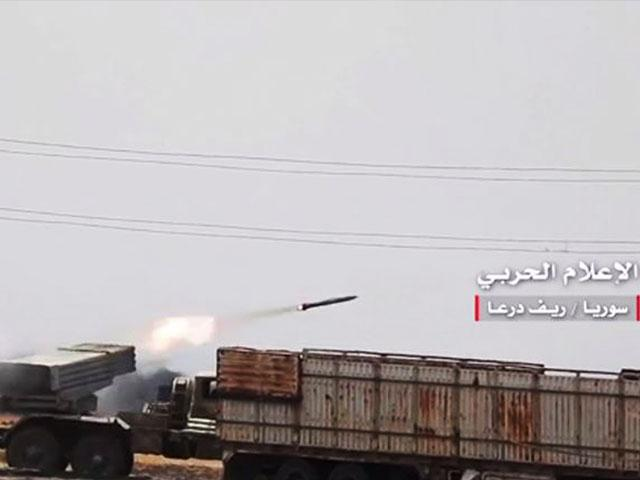 Syrian military video of troops fighting with ISIS in Daraa, Screen Capture, AP