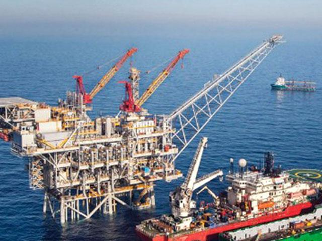 Tamar Natural Gas Reservoir, Photo Courtesy Israel Trade & Economic Office