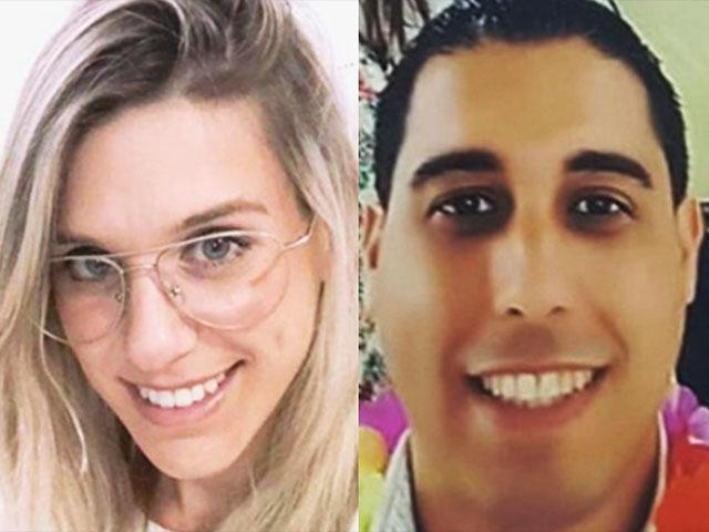 The two Israelis murdered by a terrorist, near the city of Ariel.