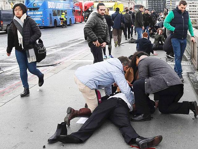 Terror Attack in London, Photo, ABC News
