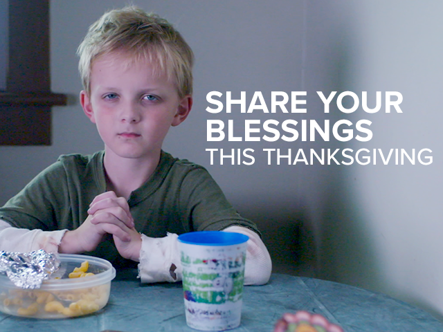 Share Your Blessings This Thanksgiving