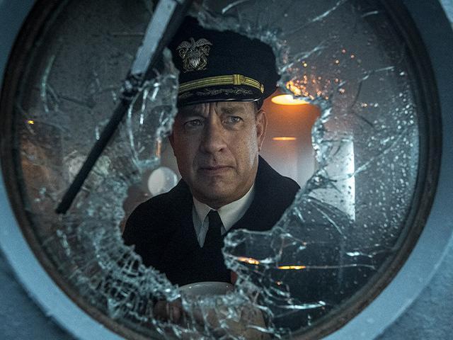 Tom Hanks in Greyhound movie