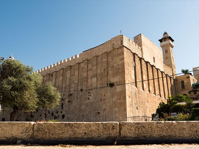 Cave of the Patriarchs (Machpelah) in Hebron, Photo, CBN News, Jonathan Goff