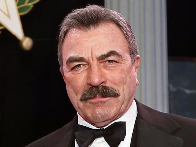 In this Nov. 16, 2017, file photo, Tom Selleck is shown during Oklahoma Hall of Fame induction ceremonies in Oklahoma City. (AP Photo/Sue Ogrocki, File)
