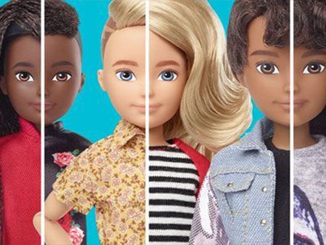 Mattel's New Line of Gender-Neutral Dolls