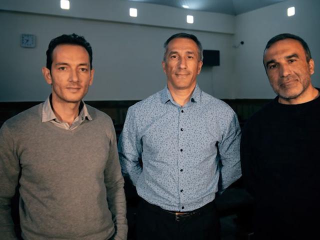 Bahram Nasibov, Eldar Gurbanov y Yusif Farhadov pasaron meses en una de las peores prisiones del mundo.