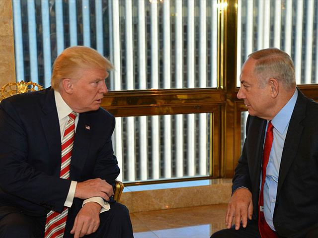 President Trump and Prime Minister Netanyahu, Photo, AP