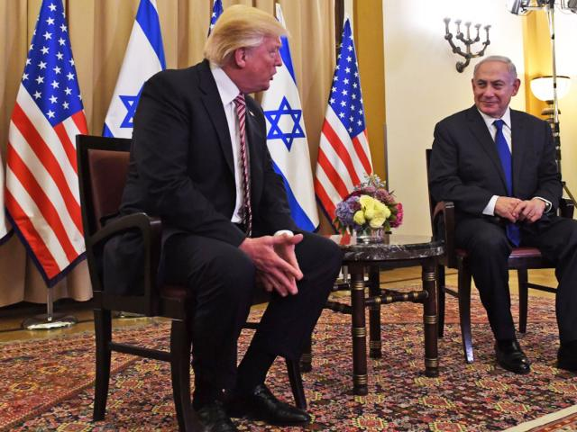President Donald Trump with Israeli Prime Minister Benjamin Netanyahu, Photo, GPO archive