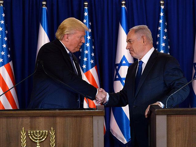 President Trump and Prime Minister Netanyahu, Photo, GPO archive, Kobi Gideon
