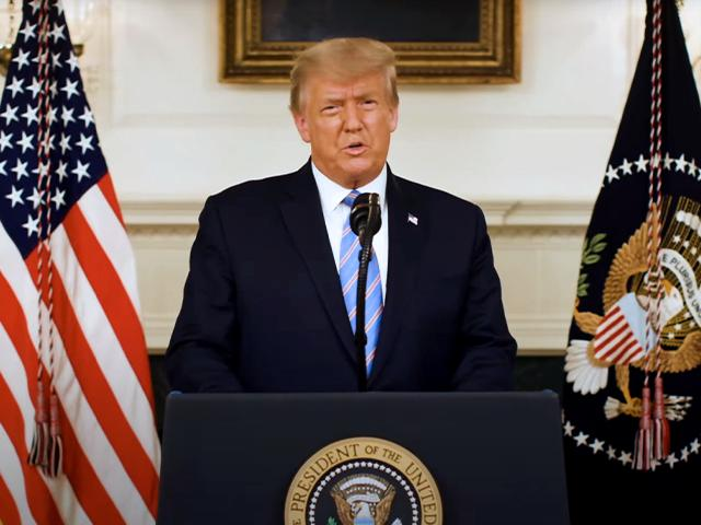 President Trump addresses the nation after Capitol Hill riot.