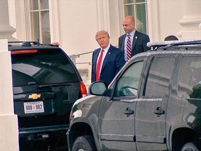 Trump Car Secret Service