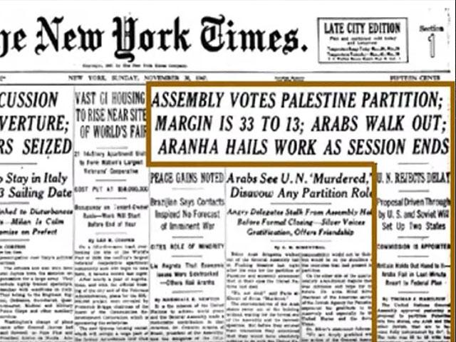 The New York Times, Nov. 30, 1947, Screen Capture