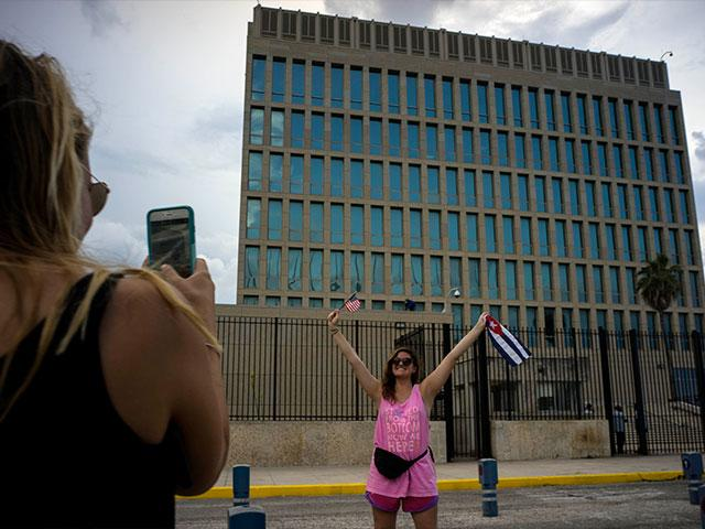 US Embassy in Havana, Cuba, Photo, AP