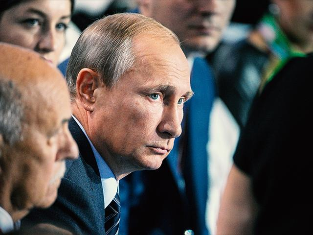 Russian President Vladimir Putin, AP file photo