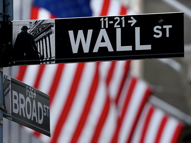 A Wall Street sign at the New York Stock Exchange in New York. (AP Photo/Seth Wenig)