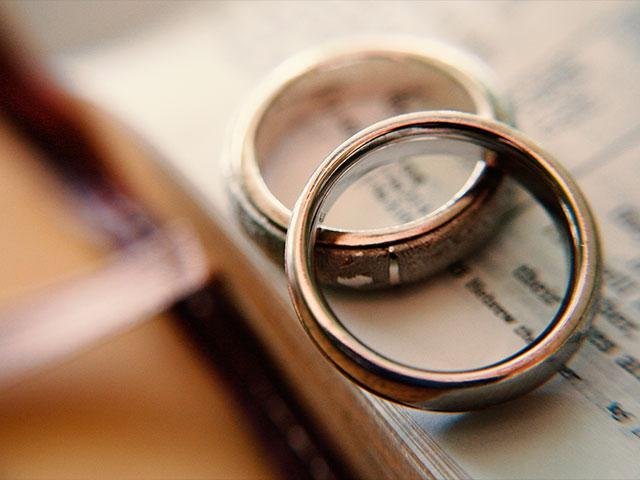 Wedding Rings Bible