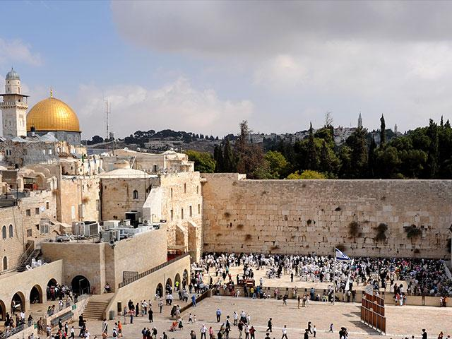 Western Wall, Courtesy GPO, Mark Neyman