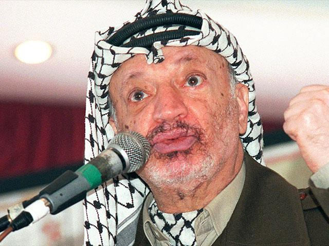 The late PLO Chairman Yasser Arafat, Photo, AP archives, Nasser Nasser