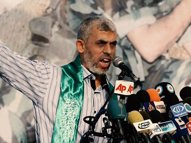 New Hamas chief Yahya Sinwar, Photo, AP