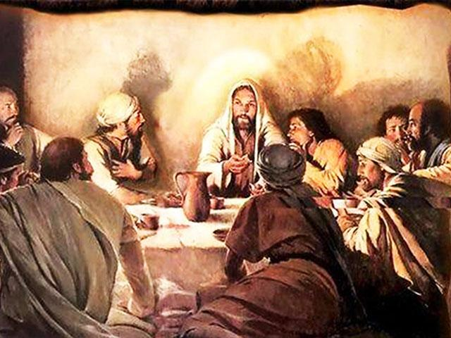 Yeshua at the Passover Seder, Photo, FB