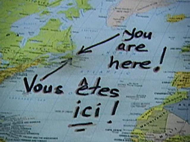 You Are Here Documentary Map