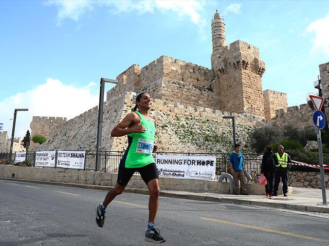 Jerusalem Marathon 2018, TPS Yitzchak Kelman