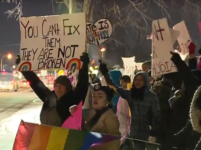 Michigan Church Protest