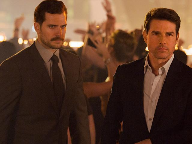 Tom Cruise and Henry Cavill in Mission: Impossible - Fallout