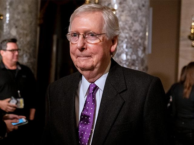 Senate Majority Leader Mitch McConnell (Photo: Patrick Robertson/CBN News)