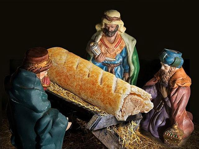Nativity Sausage Roll Twitter