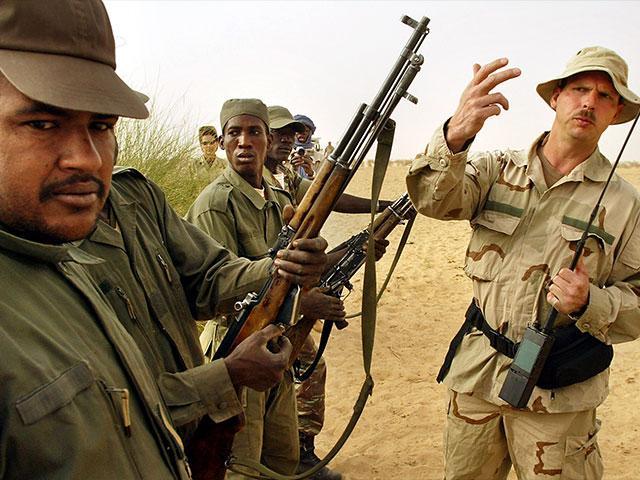 Niger Green Berets AP