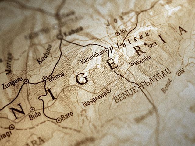 Nigeria Map AS