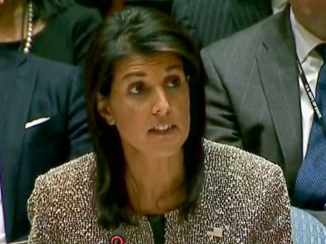US UN Ambassador Nikki Haley, Photo, AP archive