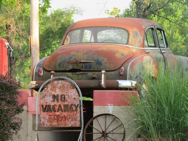 old chevy car