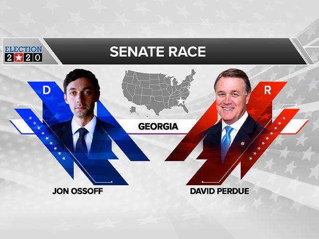 Jon Ossoff (D) vs. David Perdue (R)*
