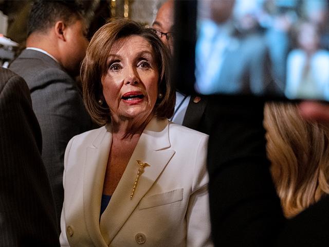 House Speaker Nancy Pelosi (Photo: Patrick Robertson/CBN News)