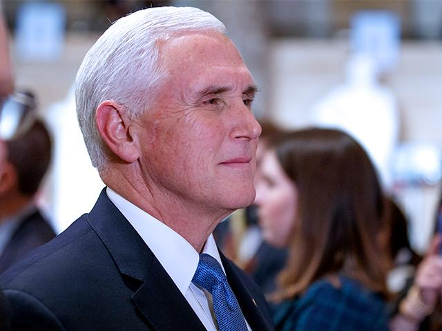 Vice President Mike Pence (Photo: Patrick Robertson/CBN News)