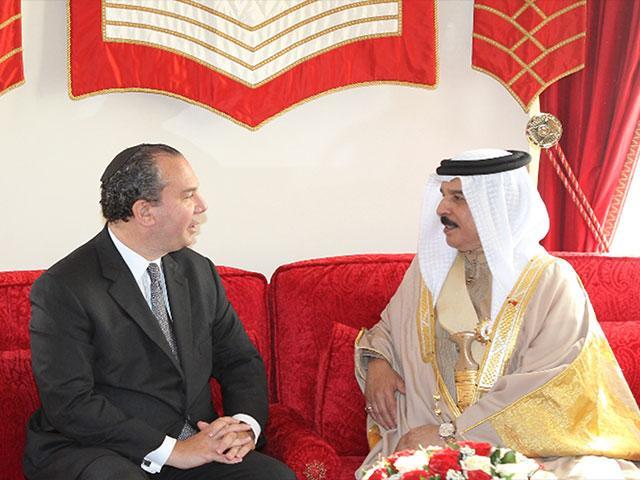 Rabbi Schneier with King Hamad bin Isa Al Khalifa of Bahrain.