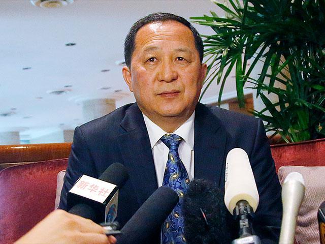 Ri Yong Ho AP