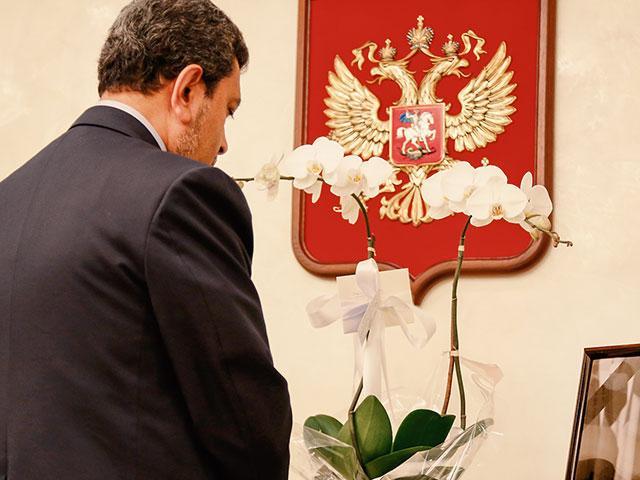 Russian Diplomat Dead