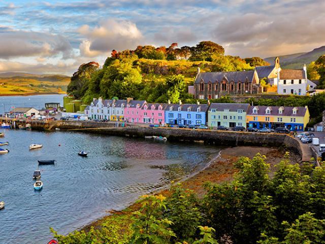 beautiful landscape in Scotland