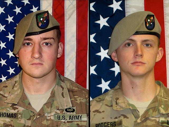 Sgt. Cameron Thomas and Sgt. Joshua Rodgers