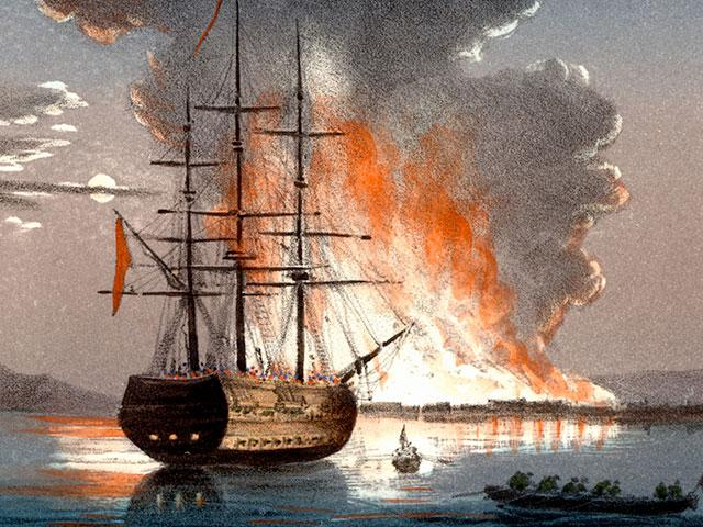 ship-burning
